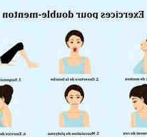 Comment maigrir du double menton