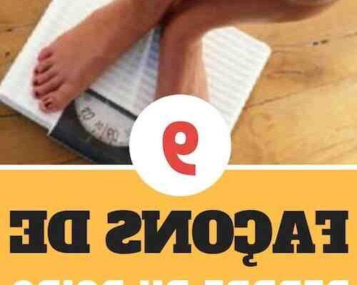 Comment maigrir naturellement en une semaine