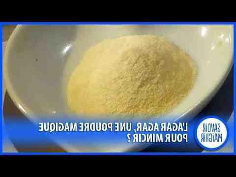 Comment utiliser l'agar agar pour maigrir