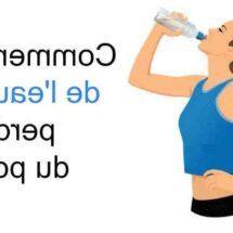Comment boire de l eau pour maigrir