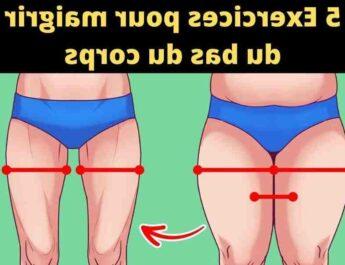 Comment maigrir du bas du corps