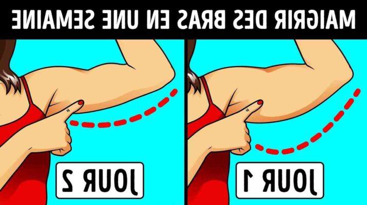Comment maigrir des bras et des épaules